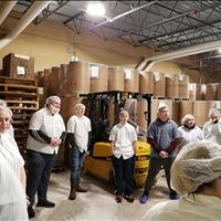 Vanderbilt Students Tour Albie's Foods, Sunfrog, H&S Mold, and Munson Otsego Memorial Hospital
