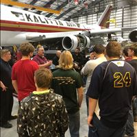 Alcona Students Tour Kalitta Air