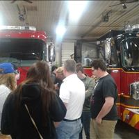 Tours at CSI Apparatus, Air Way Automation and Munson Hospital