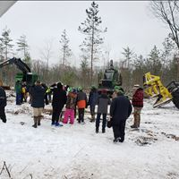 Harmon Excavating Hosts  Forestry Talent Tour