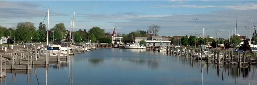 Alpena Marina, credit Stephanie Collman
