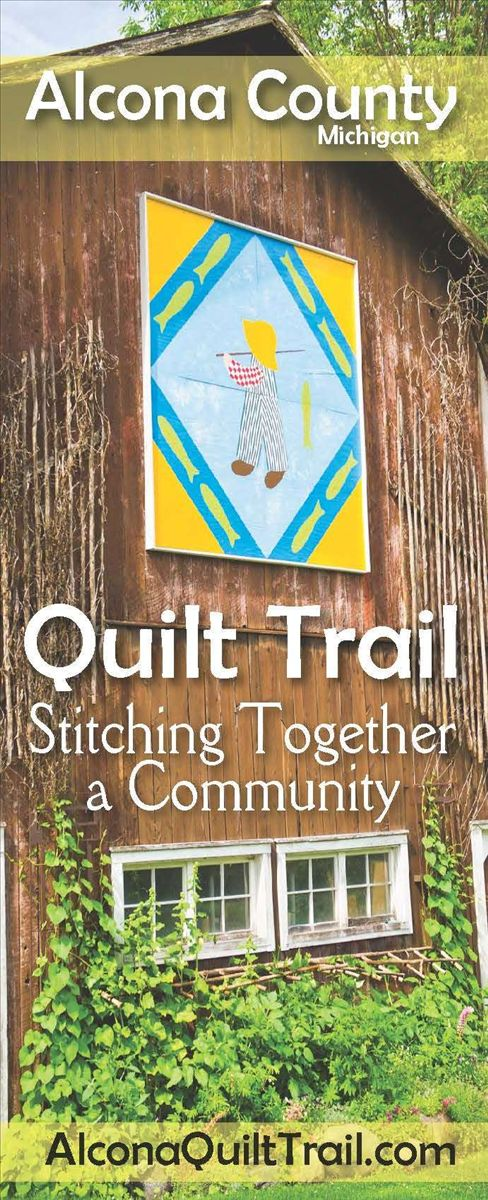 Alcona County Quilt Trail Map