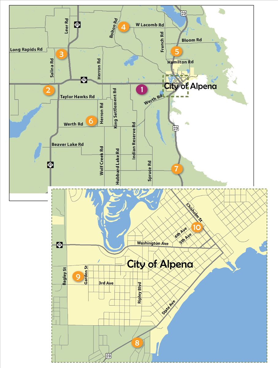 Alpena Recycling Sites