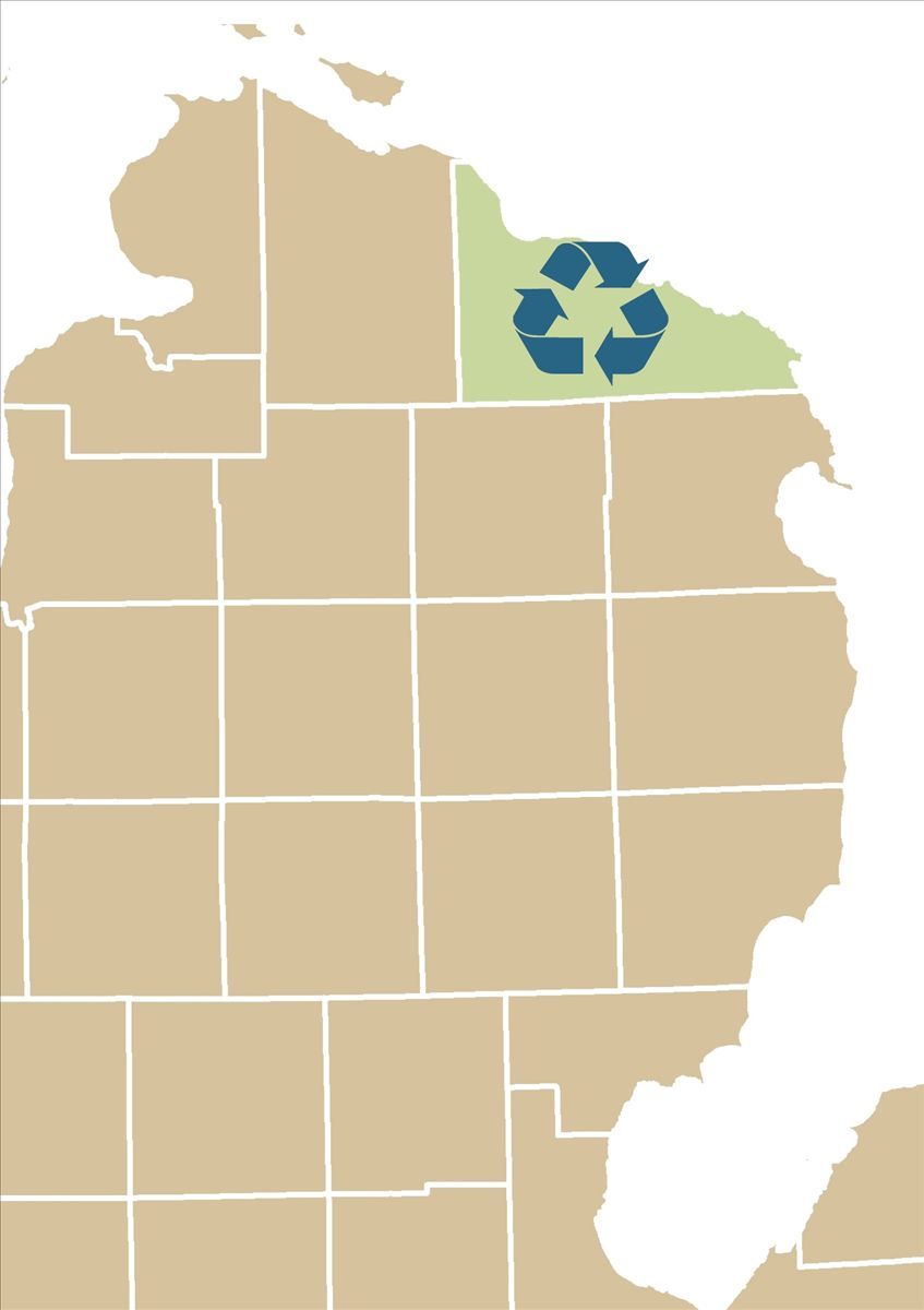 Presque Isle County Recycling - Discover Northeast Michigan