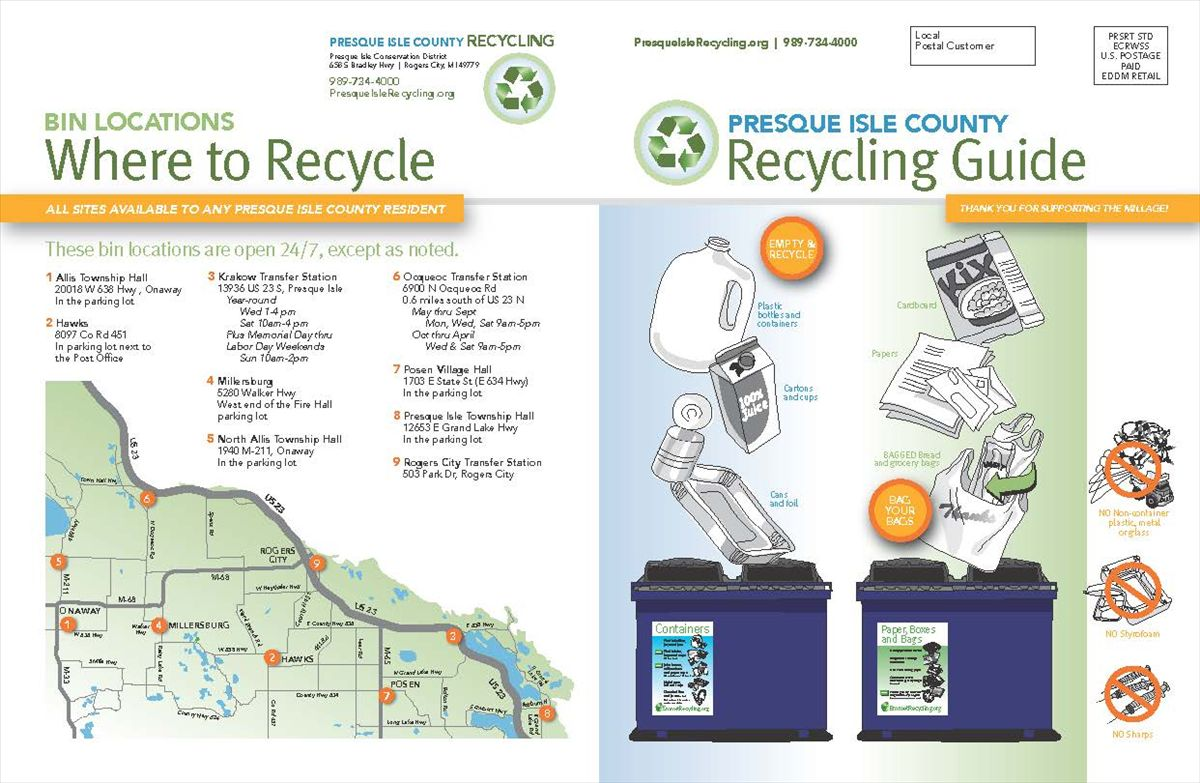 Presque Isle Recycling Guide